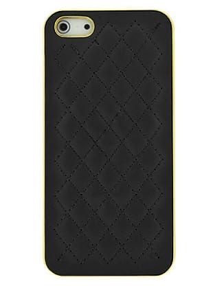 Blautel iPhone 5 Carcasa Protectora Trasera Triangle Negro/Dorado