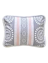New Arrivals Harper Accent Pillow, Coral