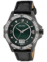 Seiko Lord Analog Green Dial Women's Watch - SUR805P1