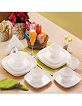 Cello Ware Set Square - 18 Pcs White