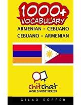 1000+ Armenian - Cebuano Cebuano - Armenian Vocabulary