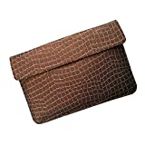 I-KitPit : PU Leather Pouch Case For Samsung Galaxy Note 10.1 (BROWN) - B00MRM4QJA
