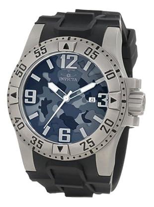 Invicta 1098 - Reloj de Caballero cuarzo poliuretano Negro