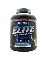 Dymatize Nutrition Elite Whey Protein Powder - 5 lbs (Rich Chocolate)