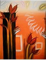 Art by Moi Orange Painting