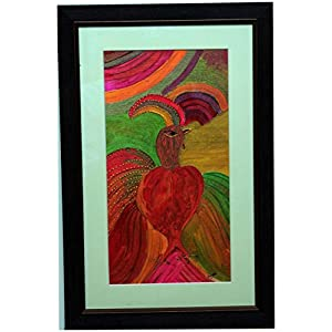 TitliArt Creations Abstract rooster