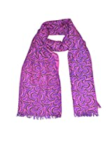 She Dezires Women's GT Printed woolen Stole (Fuchsia, Free Size)