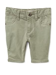 Joe's Jeans Baby Girl's Stretch Bermuda Short (Olive)