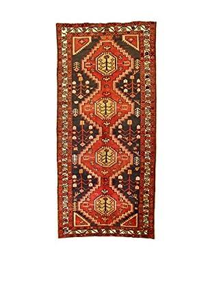L'Eden del Tappeto Teppich Sirjan rot/grau 218t x t280 cm