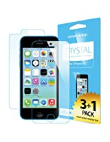 Spigen iPhone 5C Screen Protector Crystal Clear 4-PACK for iPhone 5C - SGP10350