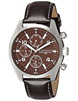 Giordano Analog Brown Dial Men's Watch - 1684-02