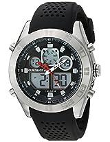 Quiksilver Analog-Digital Brown Dial Men's Watch - QS-1017-BKSV