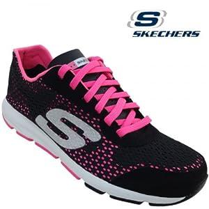 Skechers Women's Sports Shoe 11725 -Black H.Pink