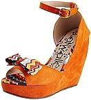 Catwalk Women's Orange Fashion Sandals - 7 UK
