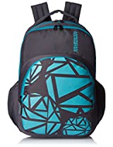 American Tourister Blue Casual Backpack (66W (0) 97 004)