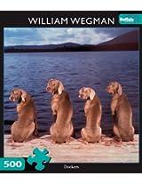 William Wegman Dockers 500pc Jigsaw Puzzle