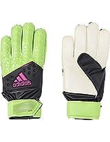 adidas Ace Fingersave Goalkeeper Gloves (Green)