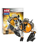 Geomag Kor Proteon Gheb Transformer - 40 Piece Creative Magnet Playset Toy - Swiss Made - Part of Geomag's World Famous Award Winning Product Line - Introductory Level - Ages 5 and Up