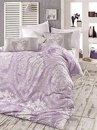 Colors Couture Bettdecke und Kissenbezug Madam