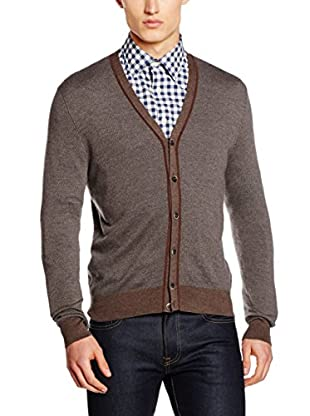 Hackett London Chaqueta Punto Lana May Varsity Cardi