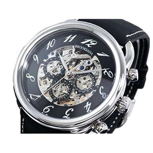 BROOKIANA ブルッキアーナ 腕時計 自動巻き BA1658-SVBK