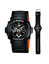 Casio G-Shock (Basic Model) AW-591MS-1A (G225) Watch - For Men