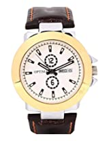 Optima Automatic White Dial Watch