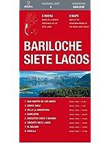 Bariloche y Siete Lagos/ Bariloche and Siete Lagos (Regional Map)