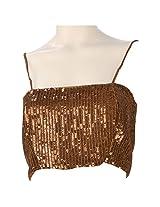 Colhers Women Silk Cotton Dress Material (G120A _Brown _Medium)