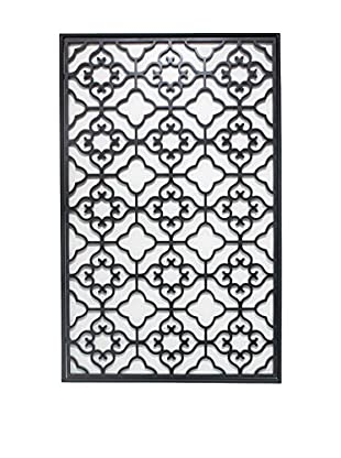 Three Hands Metal Wall Décor, Black