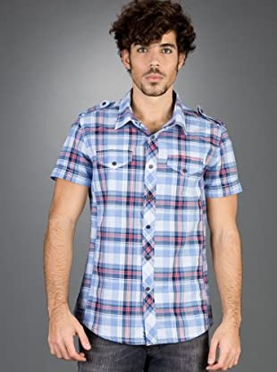 Andy Warhol by Pepe Jeans Camisa Empire (Azul / Rojo)