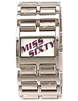 Miss Sixty Analog White Dial Women's Watch - SZ3001