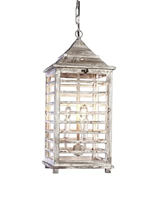 Shades of Light Wooden Shutter Lantern-Large