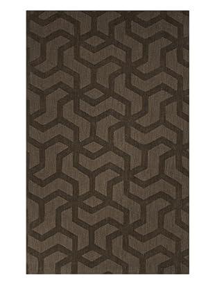 Jaipur Rugs Hand-Loomed Wool Rug, Green, 5' x 8'