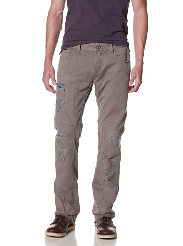 Cult of Individuality Men's Hagen Relaxed Twill Pants (Army)