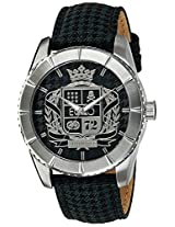 Marc Ecko Analog Black Dial Unisex Watch - E08506G2