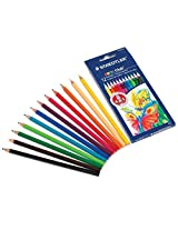 Staedtler Colored Pencils, 12 Colors (Pack of 3)