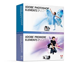 Adobe Photoshop Elements & Premiere Elements 7 ��{��� Windows�� �ʏ��