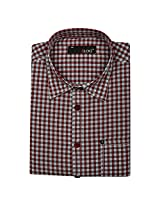 Blog Men's Red Full Sleeve Formal Shirt-FS21