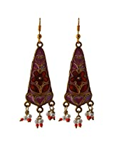 Ishita Fashion Gold coloured Dangle & Drop Earring for Women