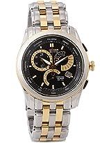 Citizen Eco-Drive Analog Watch - For Men Gold Silver-BL8008-52E