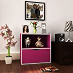 Mebelkart Housefull Geno Storage Shelf Magenta