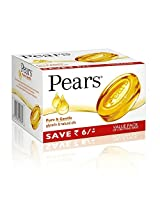 Pears Pure & Gentle Soap Bar 3x125 g