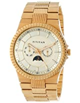 Titan Regalia Analog Gold Dial Men's Watch - NE1532YM02