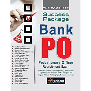 The Complete Success Package: Bank PO Recruitment Examination