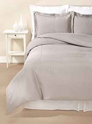 Kumi Basics by Kumi Kookoon Silk Duvet Cover Set (Storm)
