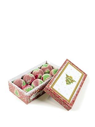 Set 8 Bolas Navidad En Caja