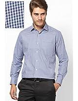 Light Blue Comtemporary Fit Italian Formal Shirt