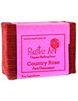 Rustic Art Country Rose (aromatic soap)