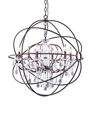 Urban Lights Hemisphere Pendant, Medium, Bronze